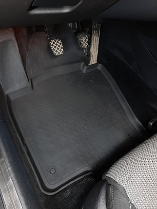 Резиновые коврики с высоким бортом для Volkswagen Passat B6 (2005-2011), фото 2