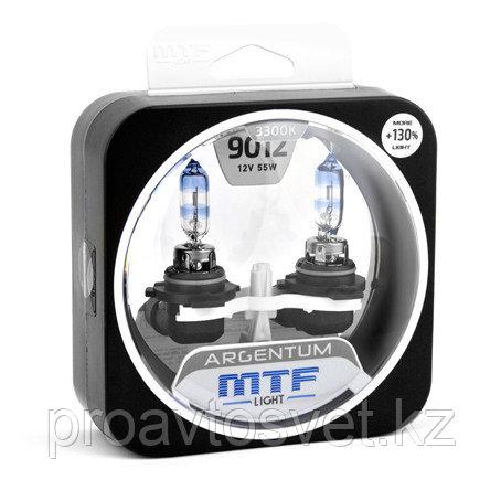 Галогенные автолампы MTF Light серия ARGENTUM +130% HIR2(9012), 12V, 55W, комп.