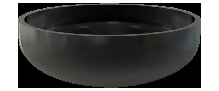 Днище эллиптическое отбортованное 09Г2С 350х25х88х12