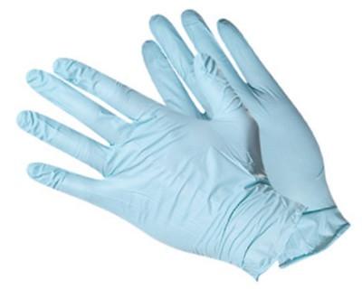 Перчатки нитриловые, НЕопудренные