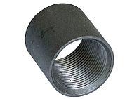 Муфта прямая с цилиндрической резьбой Ст20 40х48х5