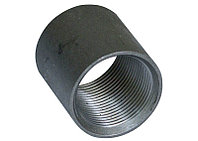 Муфта прямая с цилиндрической резьбой Ст20 65х65х6