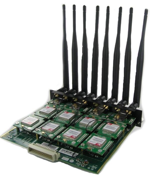 Модуль GM8 на 8 GSM-каналов (для TG1600)