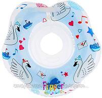 """Круг на шею Roxy Kids Flipper Swan Lake Music """"Лебединое озеро""""( розовый,голубой), фото 9"""
