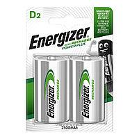 Аккумуляторы Energizer Accu Recharge Power Plus D 2500 mAh, 2шт