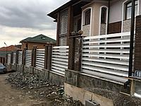 Декоративный забор, фото 1