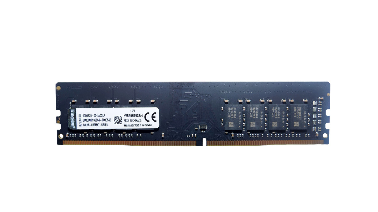 Оперативная память DIMM DDR4 4gb Kingston KVR24N17S8/4