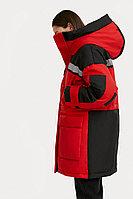 Пальто женское Finn Flare, цвет темно-красный, размер L