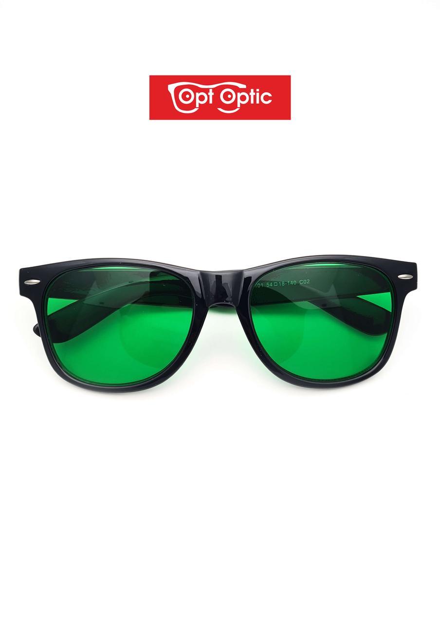 Очки глаукомные / зеленые очки в Пластике