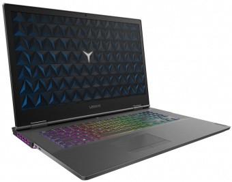 Ноутбук Lenovo Legion Y740-17IRHg 17,3'FHD/Core i7-9750H/32Gb/1TB SSD/GF RTX2070 8Gb/Dos(81UJ009WRK)