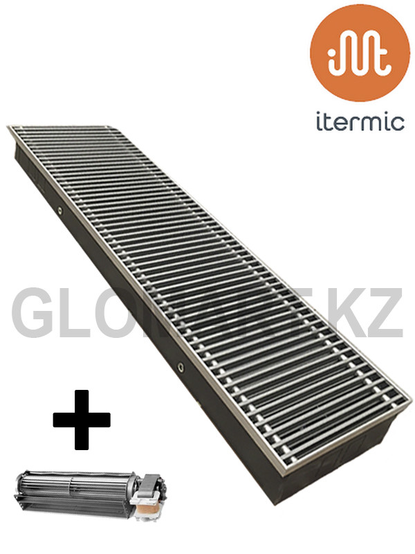 Конвектор с вентилятором Itermic ITTBZ 250*75*1900