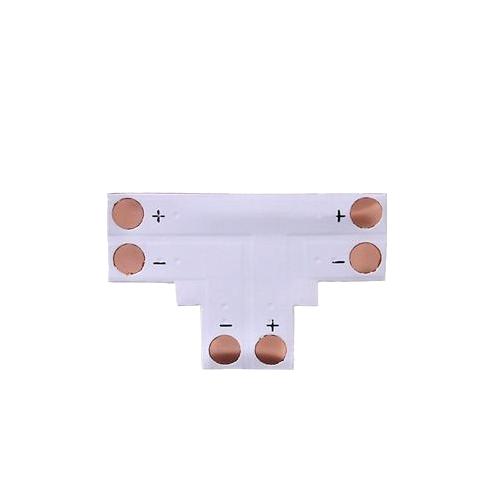 Коннектор Т- образный мягкий под пайку 8мм IP20