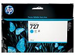 HP B3P19A Картридж голубой HP 727 для Designjet T1500/T920/T2500