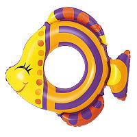 Надувной круг для плавания Friendly Fish, 81x76 см, Bestway 36111