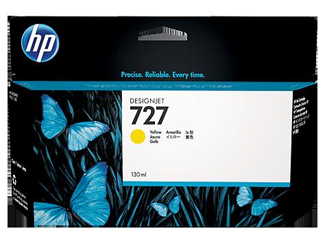HP B3P21A Картридж желтый HP 727 для Designjet T1500/T920/T1500/T2500