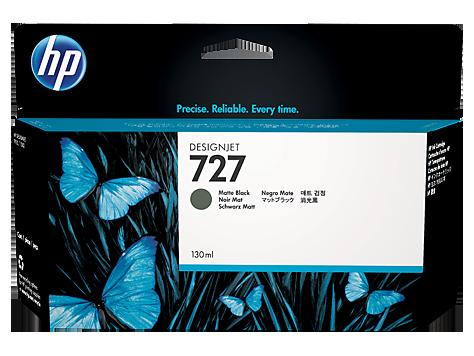 HP B3P22A Картридж черный матовый HP 727 для Designjet T1500/T920/T2500