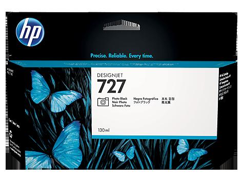 HP B3P23A Картридж черный фото HP 727 для Designjet T1500/T920/T2500