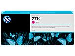 HP B6Y09A Картридж пурпурный HP 771C для Designjet Z6200/Z6600/Z6800