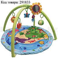Развивающий коврик для малышей с музыкальной игрушкой 56х85 см