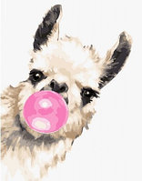 """Картина по номерам """"Розовый пузырь"""" 30х40 см"""