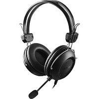 Наушники микрофон A4tech HU-35 USB, 20Hz-20kHz, 32 Om, 102dB, 2m
