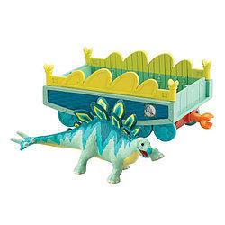 Поезд Динозавров Морис с вагончиком