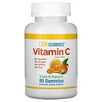 California Gold Nutrition, жевательные конфеты с витамином C,90 жевательных конфет