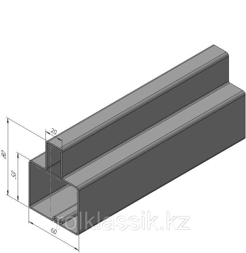 Профиль Т-образный  для сборки  откатных  ворот