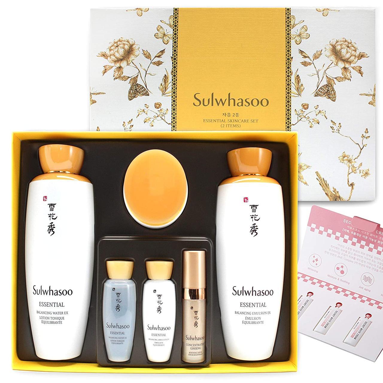 Набор Элитной Косметики Sulwhasoo Essential Skincare Set