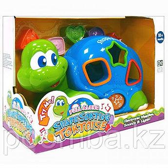 Развивающая игрушка- сортер Черепаха