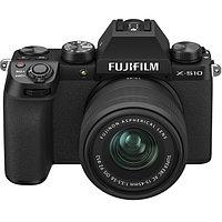 Цифровой фотоаппарат Fujifilm X-S10 kit (15-45mm f/3.5-5.6 OIS PZ) Black