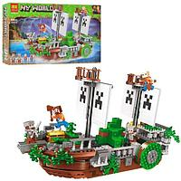 Конструктор Minecraft BELA Битва на реке 630 деталей 11139