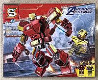 Конструктор Heroes Assemble Мстители SY1484D Железный человек Трансформер