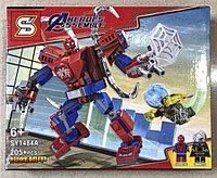 Конструктор Heroes Assemble Мстители SY1484A Человек-паук Трансформер
