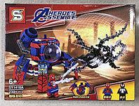 Конструктор Heroes Assemble Мстители SY1418A Человек-Паук против Венома