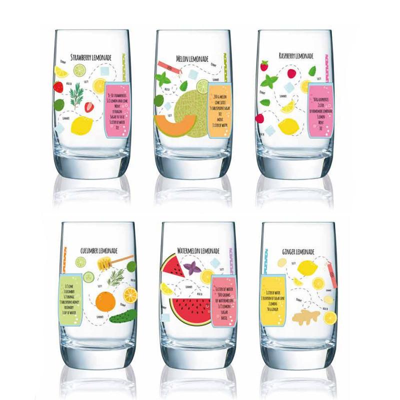 Набор стаканов Luminarc Vigne Lemonade 6 штук