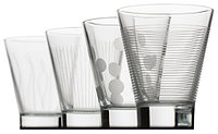 Набор стаканов Luminarc Lounge Club низкиe 4 штуки