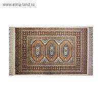 Прямоугольный ковёр Atex 117, 70 х 110 см, цвет beige