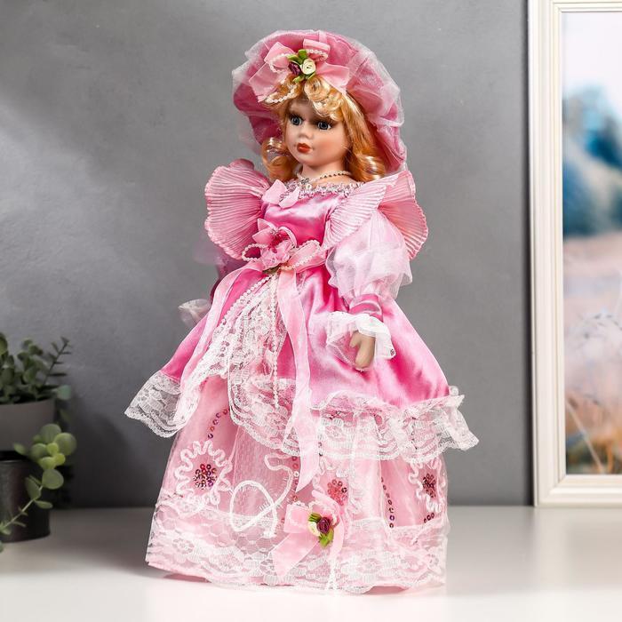 """Кукла коллекционная """"Эдита"""" 40 см - фото 3"""