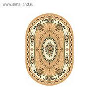 Ковёр овальный Laguna 5444, размер 100 х 200 см, цвет beige