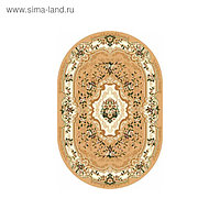 Ковёр овальный Laguna d017, размер 100 х 200 см, цвет beige
