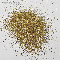 Наполнитель для шара «Блёстки», 0.4 мм, 500 г, цвет золотой