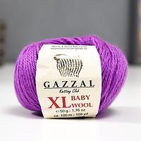 """Пряжа """"Baby Wool XL"""" 20% кашемир, 40% меринос. шерсть, 40% акрил 100м/50гр (815 сиренев.)"""