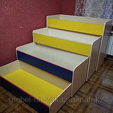 Кровать 3-х ярусный для детских садов, фото 3