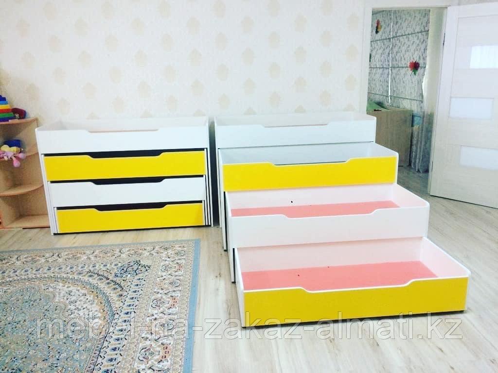 Кровать 3-х ярусный для детских садов