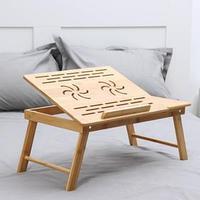 Поднос-столик для ноутбука , 55,5x32,5x22 см, бамбук