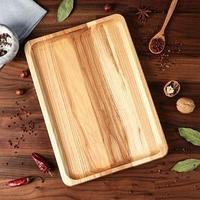 Блюдо-доска для подачи и нарезки 'Классик', 35 х 25 см, массив ясеня