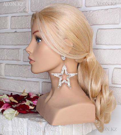 Голова-манекен AEON светло русый волос натуральный (100%) - 75 см