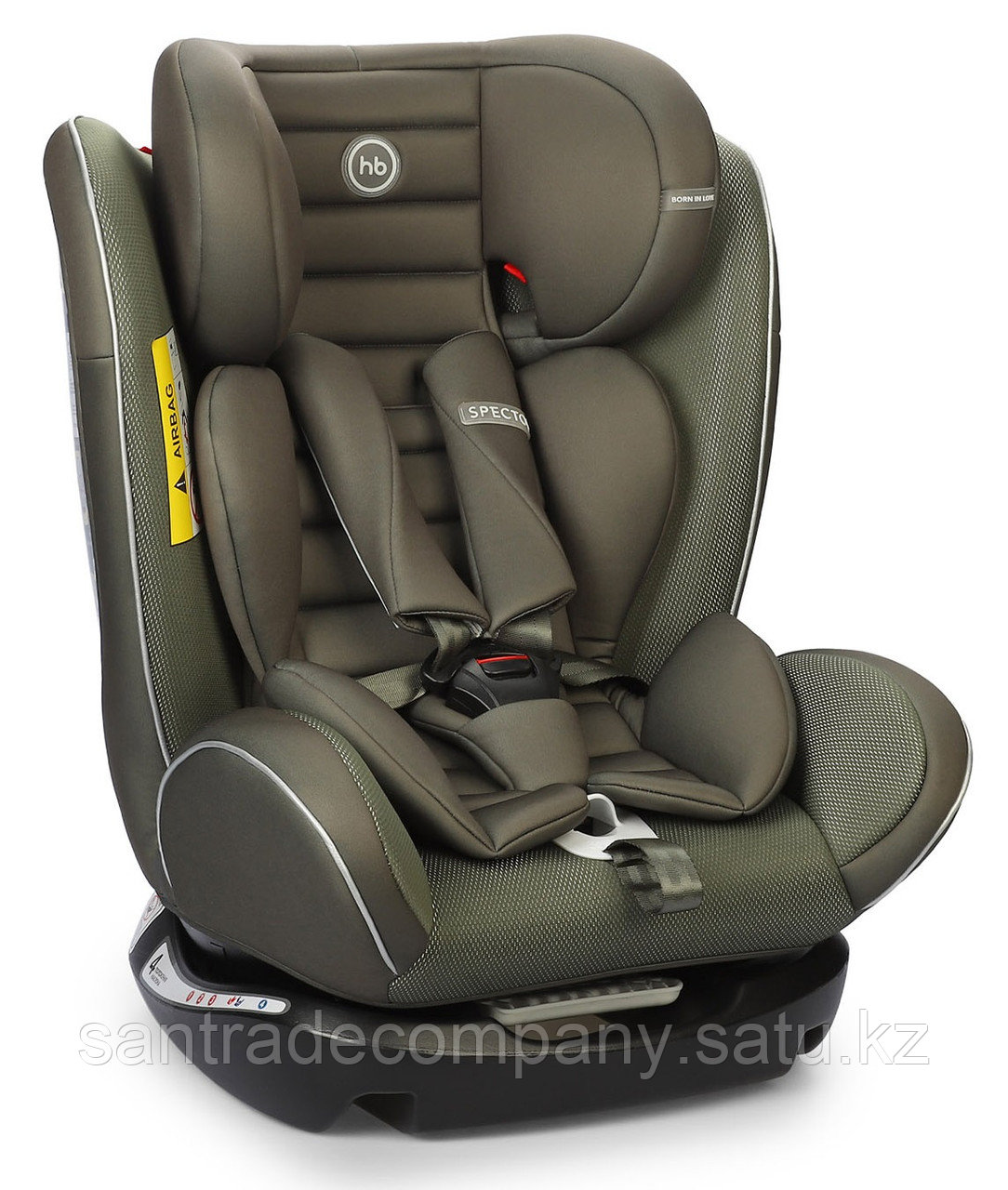 Автокресло Happy Baby Spector Dark Green(до 36 кг)