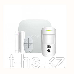 Hub Kit Cam Plus белый комплект (Hub-1шт, MotionCam-1шт, DoorProtect-1шт, SpaceControl-1шт)
